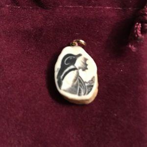 Jewelry - Scrimshaw Penguin Pendant